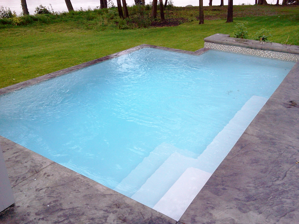 Our Achieved Concrete And Inground Pools Piscine Boisbriand - Modele de piscine en beton