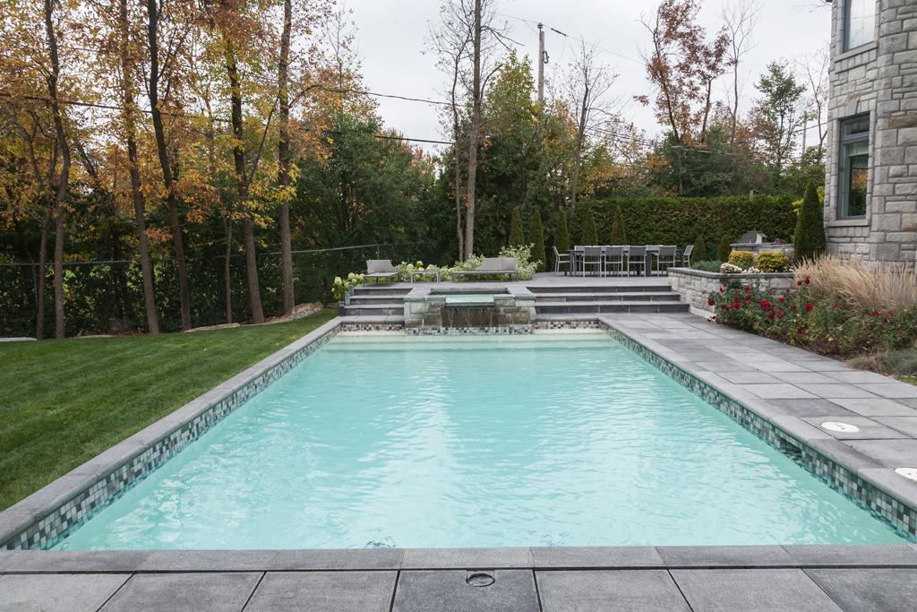 realisations de piscines creusees en beton piscine With photo amenagement paysager exterieur 6 realisations de piscines creusees en beton piscine